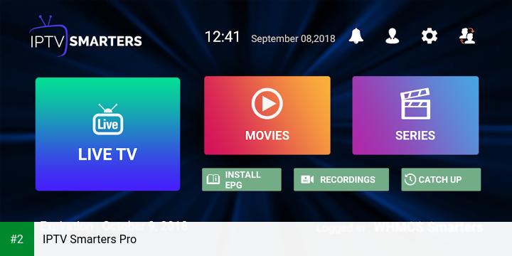 IPTV Smarters Pro apk screenshot 2
