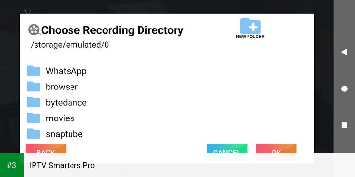 IPTV Smarters Pro app screenshot 3