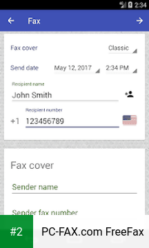 PC-FAX.com FreeFax apk screenshot 2