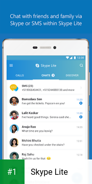 Skype Lite app screenshot 1