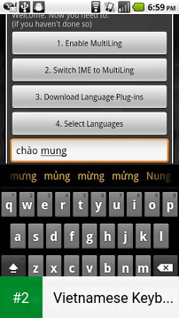 Vietnamese Keyboard Plugin apk screenshot 2