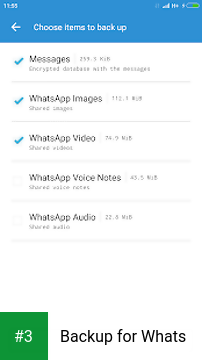 Backup for Whats app screenshot 3