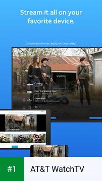 AT&T WatchTV app screenshot 1