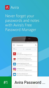 Avira Password Manager app screenshot 1