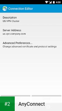 AnyConnect apk screenshot 2