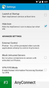 AnyConnect app screenshot 3