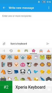 Xperia Keyboard apk screenshot 2