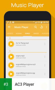 AC3 Player app screenshot 3