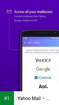 Yahoo Mail – Stay Organized app screenshot 1