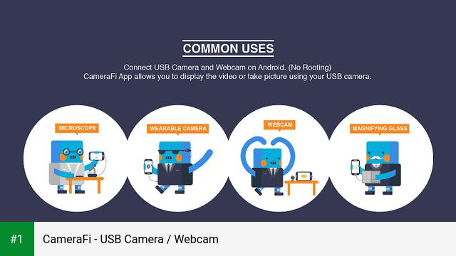 CameraFi - USB Camera / Webcam app screenshot 1
