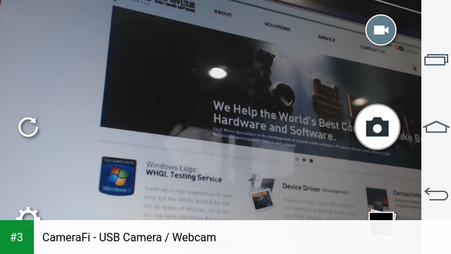 CameraFi - USB Camera / Webcam app screenshot 3