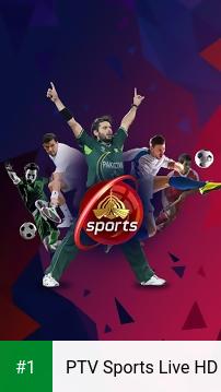 PTV Sports Live HD app screenshot 1
