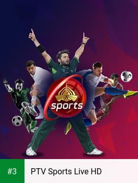 PTV Sports Live HD app screenshot 3