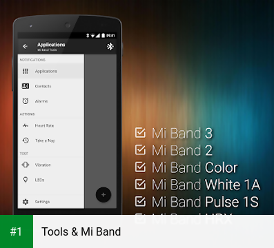 Tools & Mi Band app screenshot 1