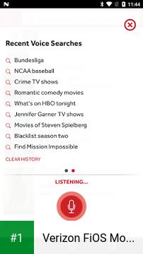 Verizon FiOS Mobile app screenshot 1