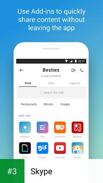 Skype app screenshot 3