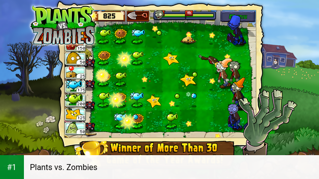 Plants vs. Zombies app screenshot 1