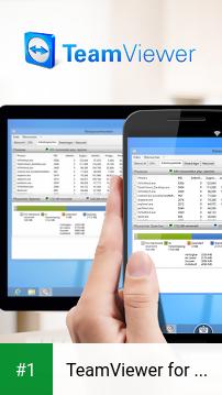 TeamViewer for Remote Control app screenshot 1