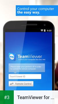 TeamViewer for Remote Control app screenshot 3