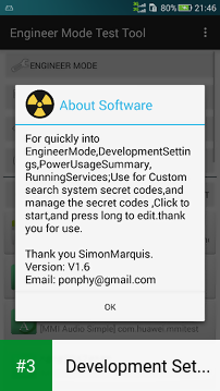 Development Settings app screenshot 3