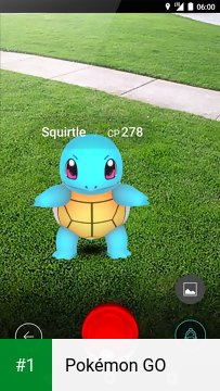 Pokémon GO app screenshot 1