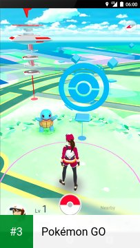 Pokémon GO app screenshot 3