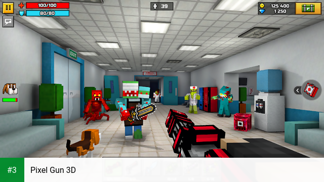 Pixel Gun 3D app screenshot 3