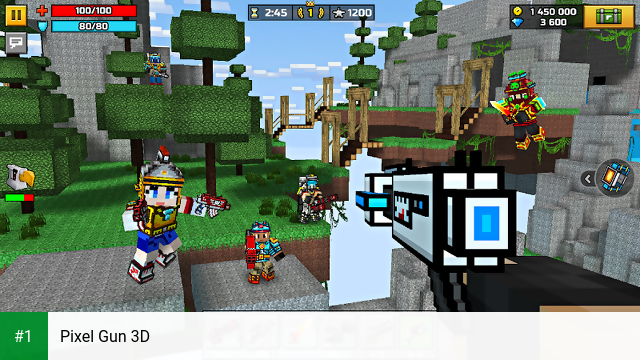 Pixel Gun 3D app screenshot 1