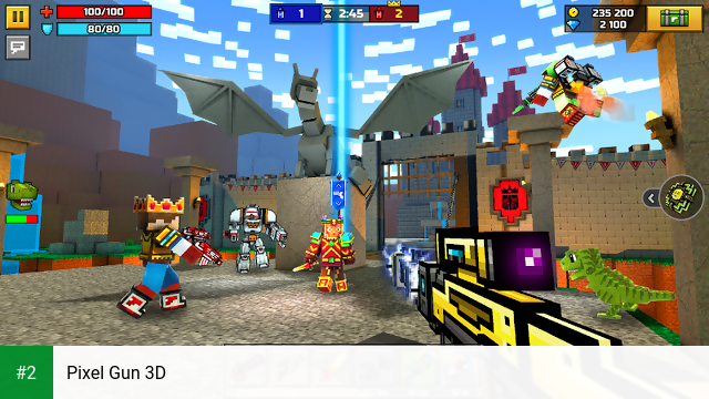 Pixel Gun 3D apk screenshot 2