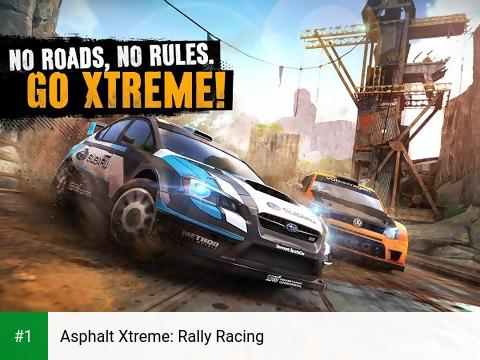 Asphalt Xtreme: Rally Racing app screenshot 1