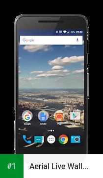 Aerial Live Wallpaper app screenshot 1