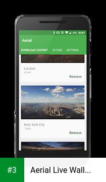 Aerial Live Wallpaper app screenshot 3