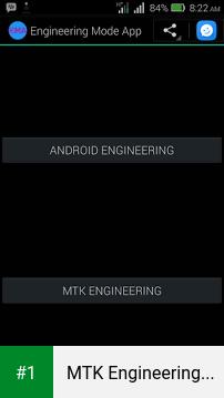 MTK Engineering Mode app screenshot 1