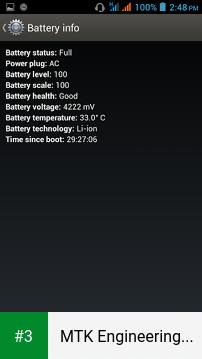 MTK Engineering Mode app screenshot 3
