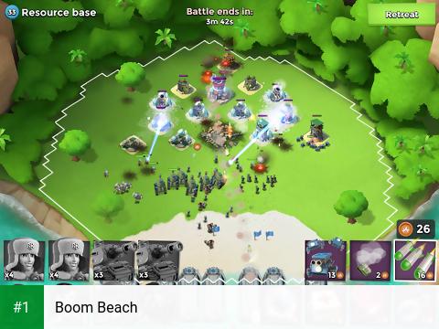 Boom Beach app screenshot 1