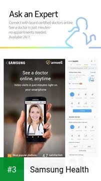 Samsung Health app screenshot 3