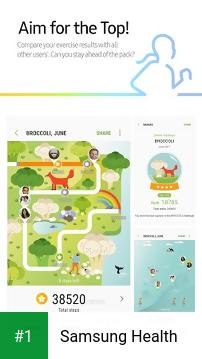Samsung Health app screenshot 1