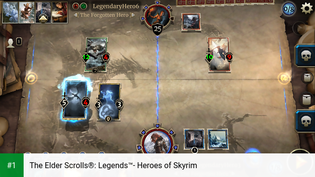 The Elder Scrolls®: Legends™- Heroes of Skyrim app screenshot 1