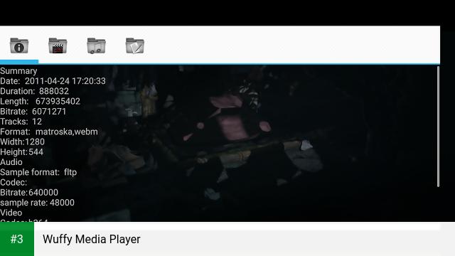 Wuffy Media Player app screenshot 3