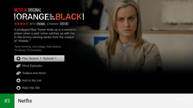 Netflix app screenshot 3