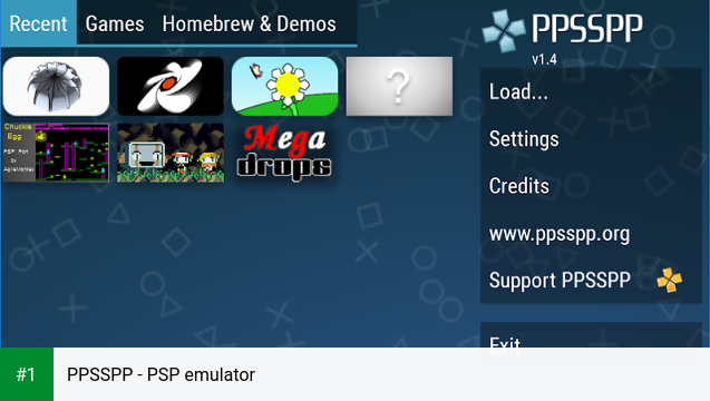 PPSSPP - PSP emulator app screenshot 1