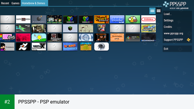 PPSSPP - PSP emulator apk screenshot 2