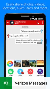 Verizon Messages app screenshot 3