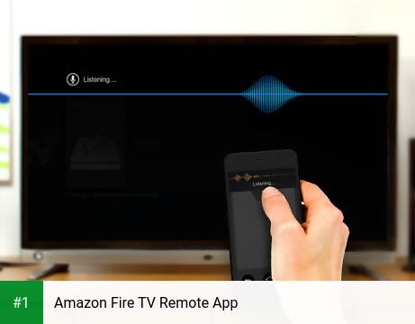 Amazon Fire TV Remote App app screenshot 1