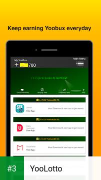 YooLotto app screenshot 3