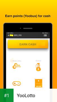 YooLotto app screenshot 1