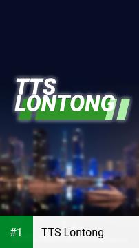 TTS Lontong app screenshot 1