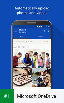 Microsoft OneDrive app screenshot 1
