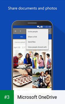 Microsoft OneDrive app screenshot 3