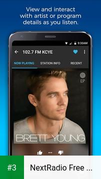 NextRadio Free Live FM Radio app screenshot 3